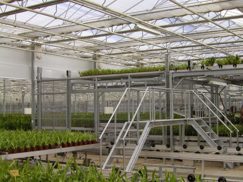 Fully Automatic Greenhouse Logistical System